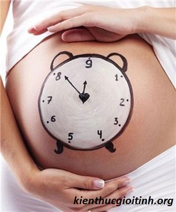 Cách tính tuổi thai và dự kiến sinh, cach tinh tuoi thai va du kien sinh