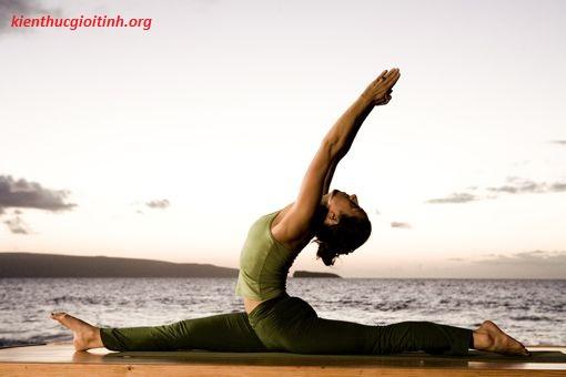 """4 bài thể dục giúp nàng """"lên đỉnh"""" dễ dàng hơn, 4 bai the duc giup nang len dinh de dang hon"""