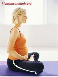 5 bài tập vận động dành cho bà bầu