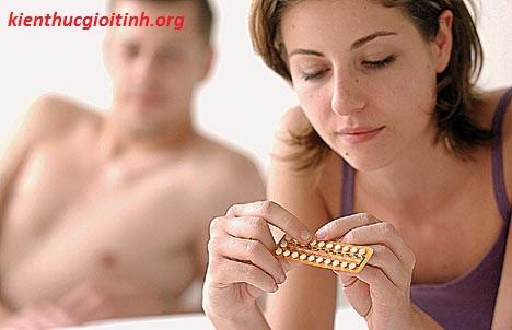 Quên uống thuốc tránh thai hàng ngày, quen uong thuoc tranh thai hang ngay