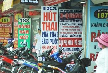 Tình trạng nạo phá thai ở Việt Nam hiện nay, tinh trang nao pha thai o Viet Nam hien nay