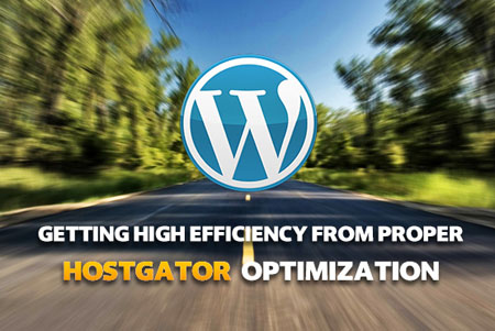 Optimization of HostGator Hosting Properly