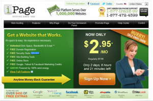 iPage – One of the best choice for all website