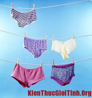 Phơi quần lót đúng cách cũng là một phương pháp sử dụng quần lót an toàn