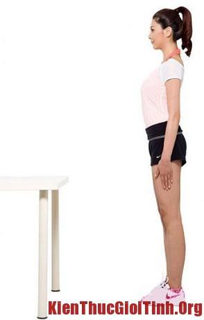 Đứng và ngồi thẳng để giảm mỡ bụng, dung va ngoi thang de giam mo bung