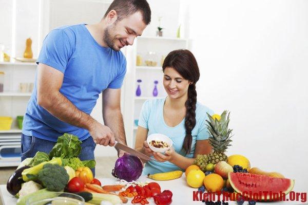 Những thực phẩm giúp tăng khả năng thụ thai