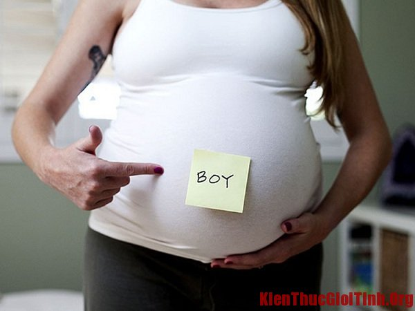 Biểu hiện nhận biết mang bầu con trai