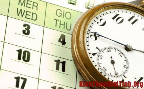 """Cách trì hoãn ngày """"đèn đỏ"""""""