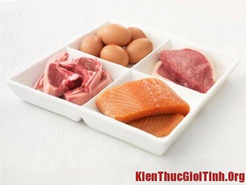 Chống xuất tinh sớm khi ăn các loại thịt