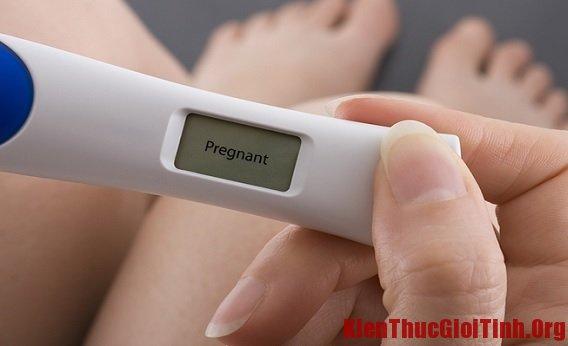 Quan hệ sau bao lâu thì biết có thai?