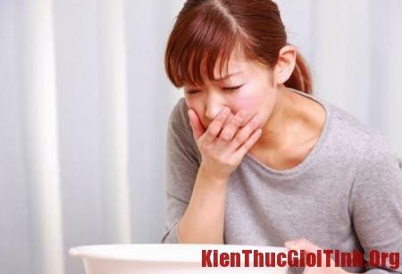 Tác dụng phụ của thuốc tránh thai khẩn cấp thường gặp nhất