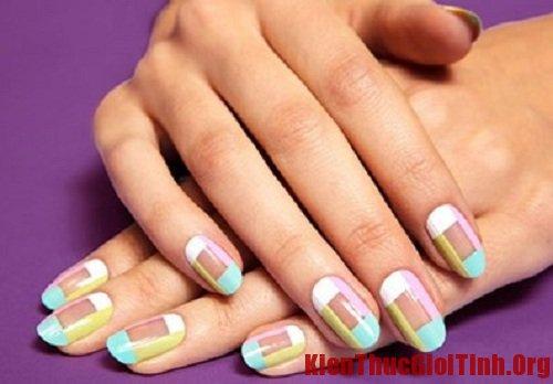 Cách vẽ nail đơn giản