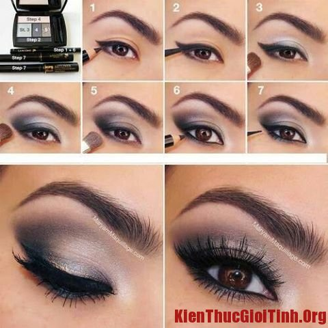 Cách trang điểm mắt khói