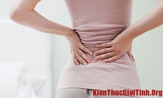 Đau lưng sau khi sinh: Nguyên nhân và cách khắc phục
