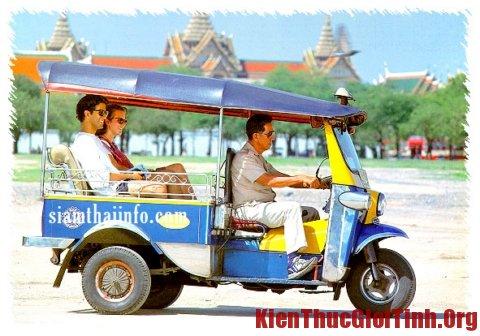 Phương tiện đi lại khi du lịch Thái Lan