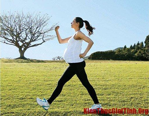 Bài tập thể dục dành cho bà bầu