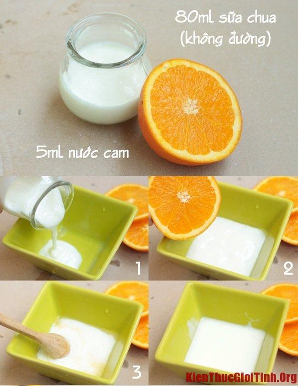 Mẹo hay giúp làn da trắng hồng tự nhiên với nước cam tại nhà