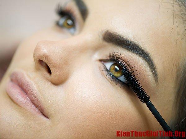 Cách làm mascara