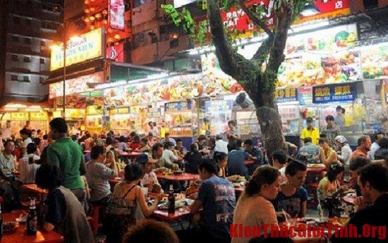 Đi đâu, ăn gì khi du lịch Kuala Lumpur? Jalan Alor, địa chỉ nhà hàng, quán ăn ngon ở Kuala Lumpur