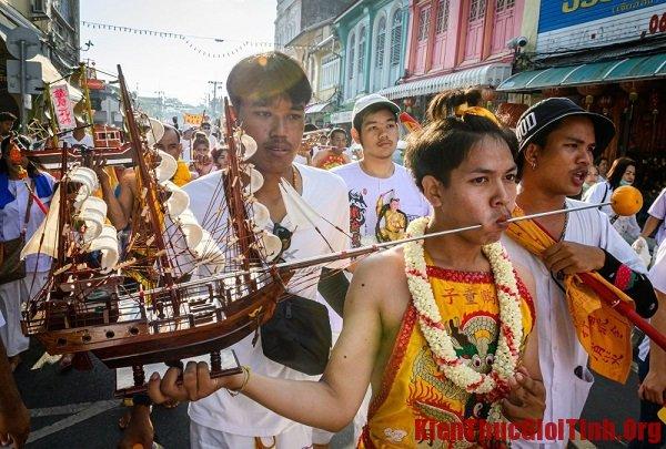 Lễ hội chay ở Phuket